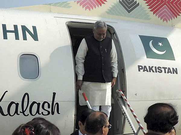 Nitish Kumar Arrives