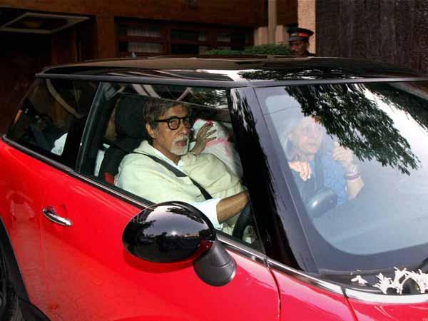 Big B injured while visiting Thackeray