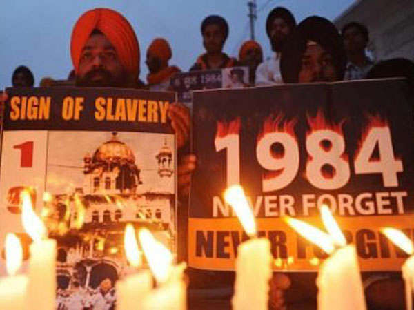 Protest against anti-Sikh riots of 1984