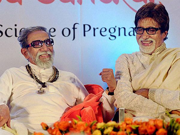 When Bal Thackeray inspired Big B