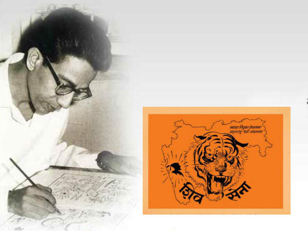 Bal Thackeray, the Cartoonist