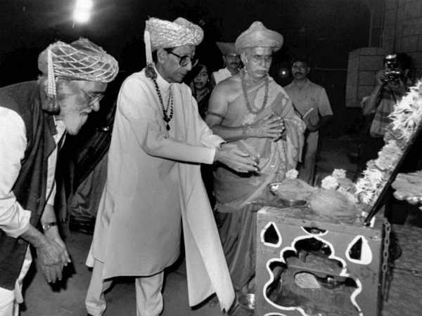 Bal Thackeray, the Warrior