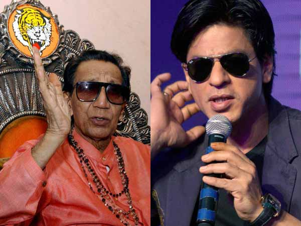Bal Thackeray and SRK