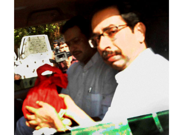 Bal Thackeray's ashes kept at Sena Bhavan
