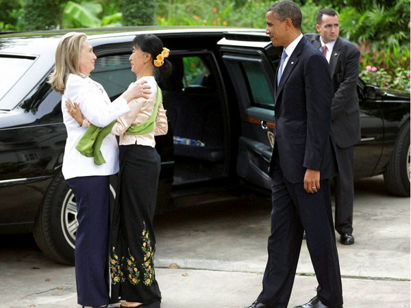 President Obama defends Myanmar visit