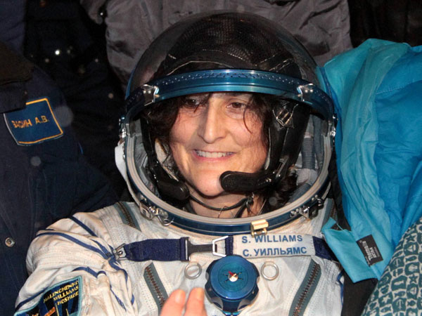 Sunita Williams back home after 4 months