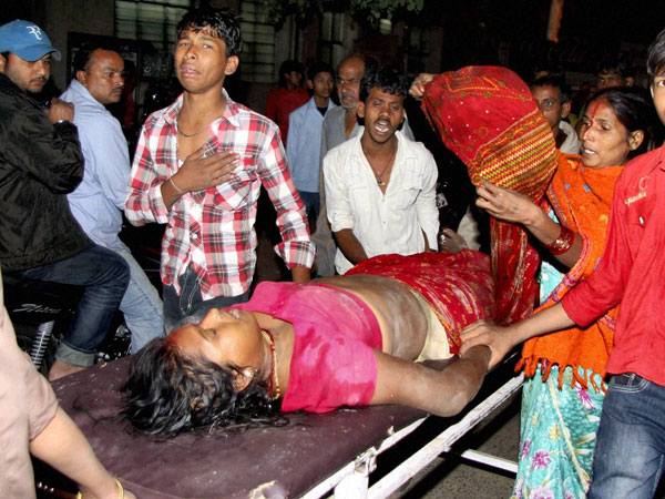 Chhath Puja: Injured taken to hosp
