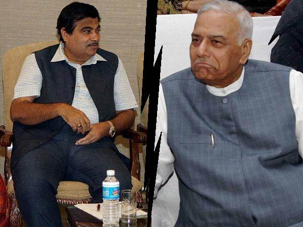 Gadkari must quit BJP Prez post: Sinha