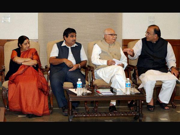 LK Advani Sushma Swaraj