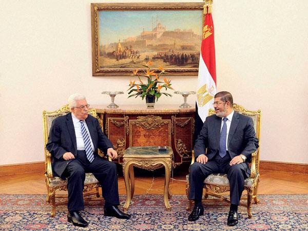 Mohammed Abbas and Mohammed Morsi