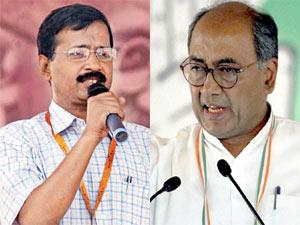 Kejriwal and Digvijay