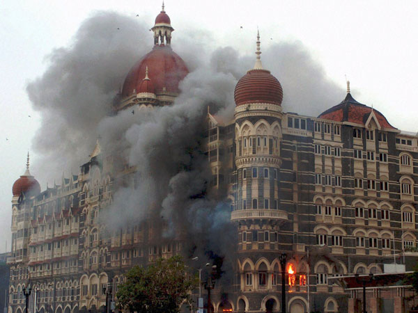 Smoke of the Taj Hotel
