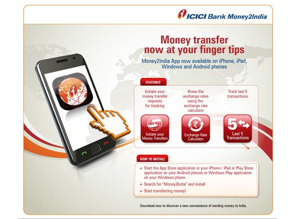 Icici Bank Key Features Of Money2india
