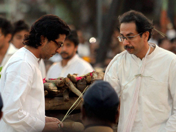 Raj Thackeray and Uddhav Thackeray