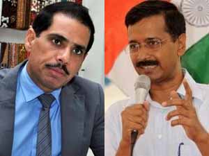 Vadra and Kejriwal