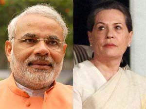 Narendra Modi takes dig at Sonia Gandhi