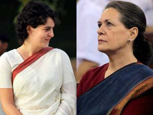 Priyanka Gandhi makes Sonia