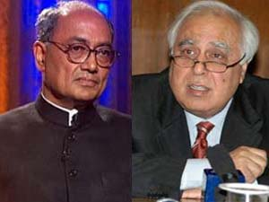 Digvijay Singh and Kapil sibal