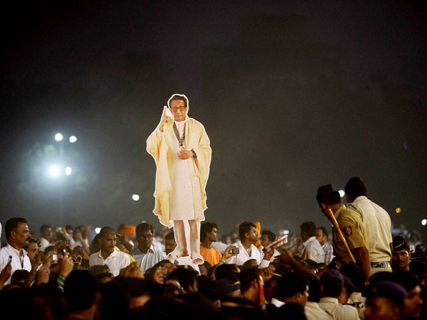 Is Thackeray bigger than Shivaji Maharaj