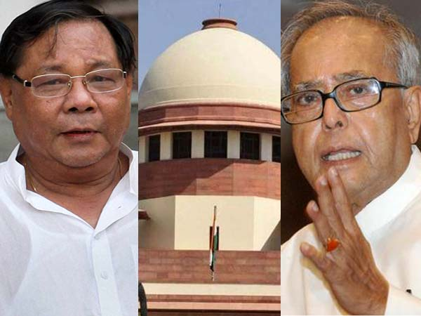 SC rejects Sangma's plea against Pranab