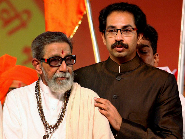 Bal Thackeray Uddhav Thackeray