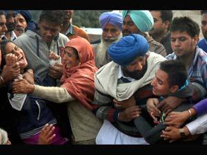 Family Members of Ravinder Pal Singh