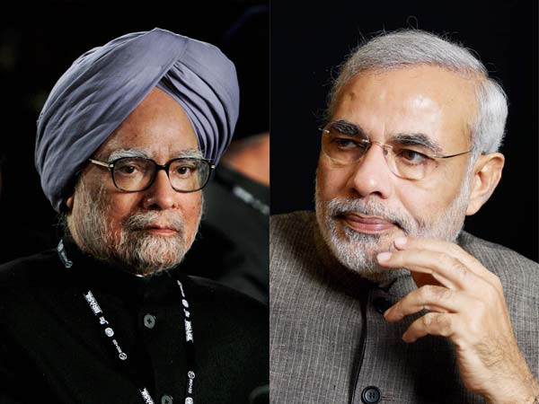 Manmohan Singh Narendra Modi