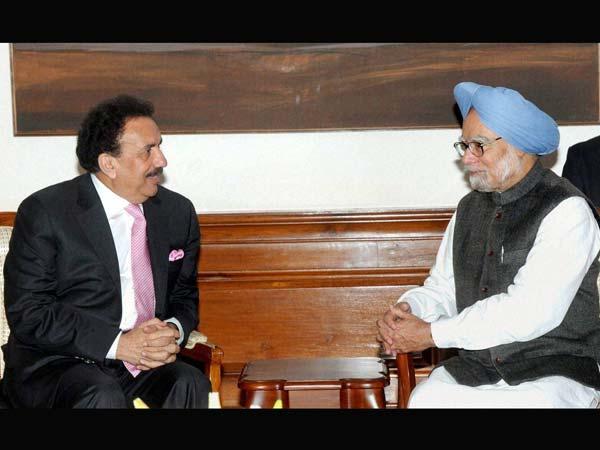Manmohan Singh and Rehman Malik