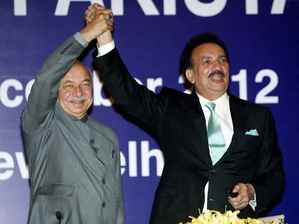 Sushilkumar shinde and Rehman Malik