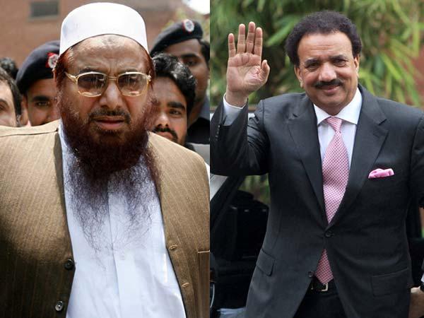 Hafiz Saeed  and Rehman Malik