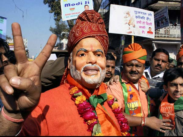 Gujarat election results: Celebration in Varanasi