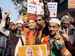 BJP Celebrates Win