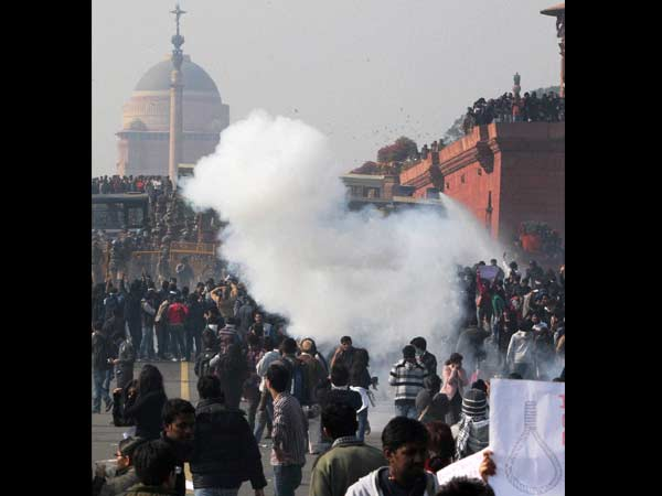 Tear gas used to disperse crowd