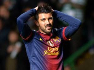 Arsenal eye January move for David Villa