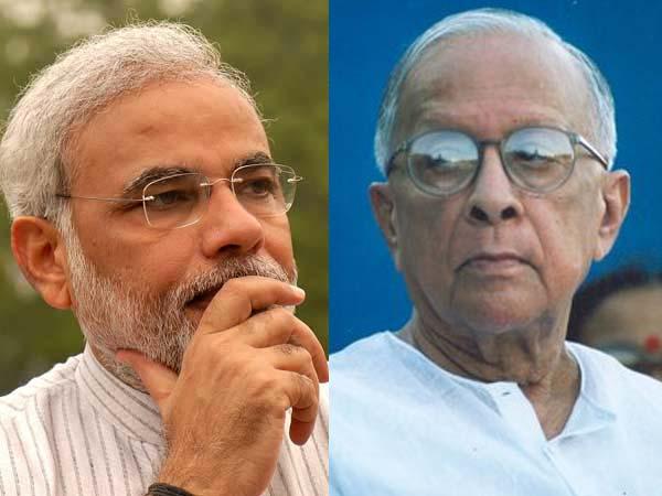 Narendra Modi vs Jyoti Basu