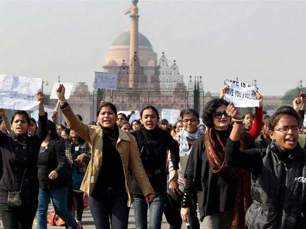 Students against delhi