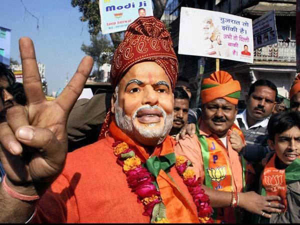 Modi wins, BJP loses, advantage Cong