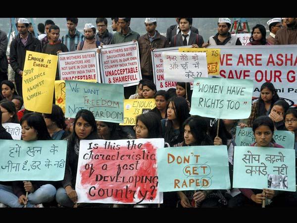 Protest Against Delhi Rape
