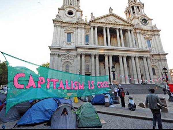 Occupy London protesters evicted