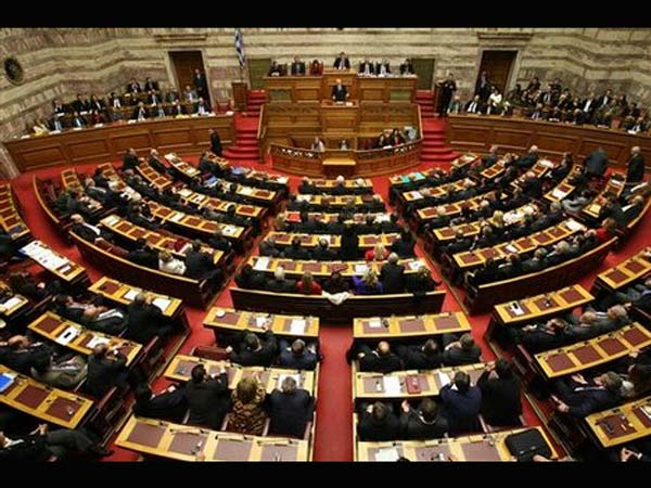 Mar 21st - Greek Parliament votes in favour of an international bailout deal