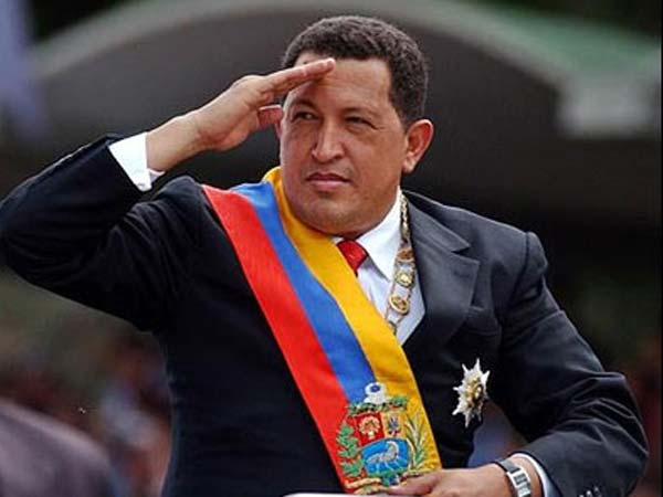 Hugo Chavez re-elelcted for the 4th time