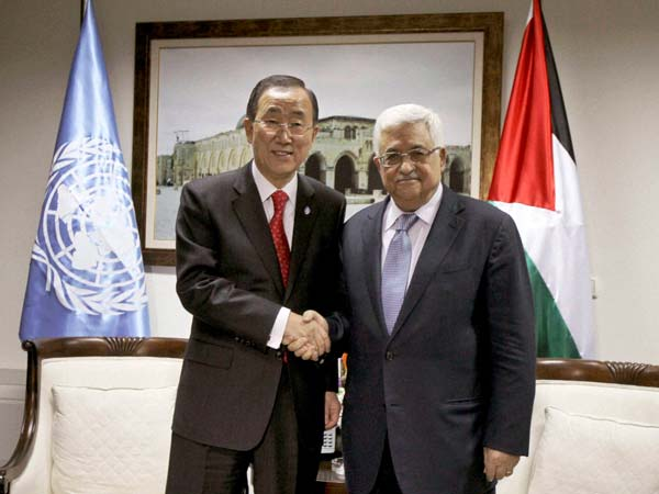 Palestine recognised by the UN as a non-member state