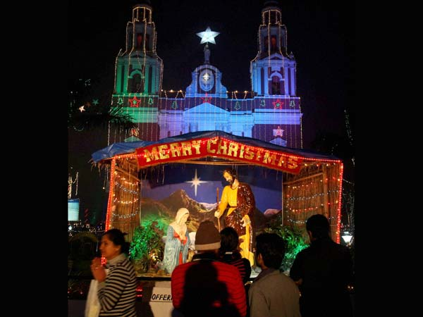 Christmas celebration in Delhi