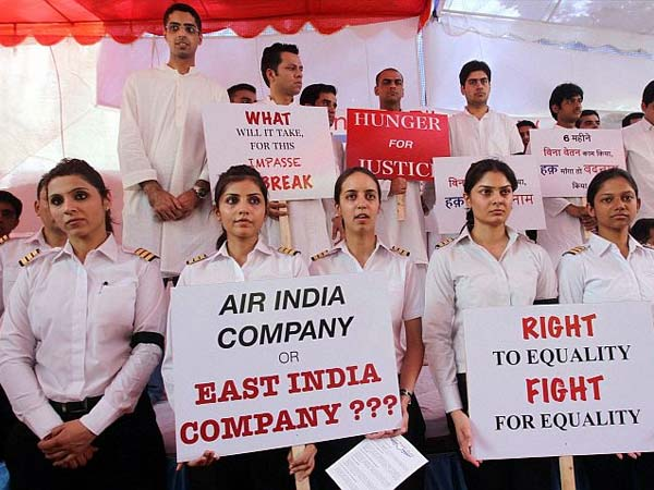 Air India pilots go on strike