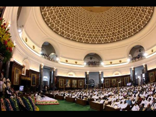 Indian parliament celebrates 60th anniversary