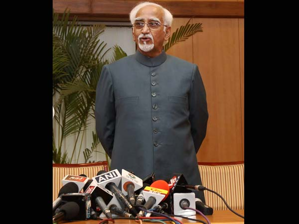 Hamid Ansari elected as Vice-President