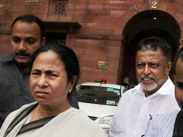 Mamata Banerjee pulls out of UPA II government