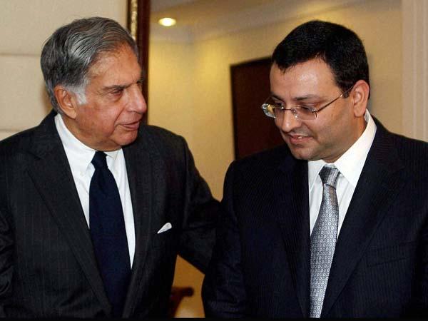 Ratan Tata with Cyrus Mistry