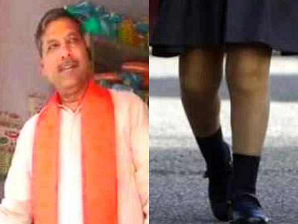 Skirt-ban MLA gets a skirt