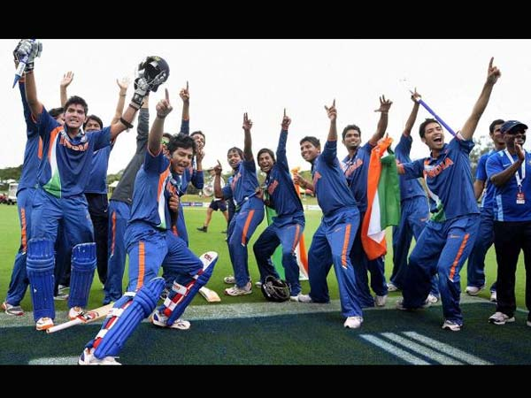 Indian colts beat Australia to lift cricket WC